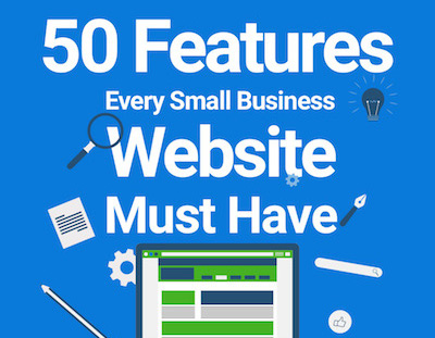 50 Features Every Small Business Website Must Have